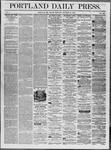 Portland Daily Press: October 31,1862