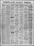 Portland Daily Press: November 08,1862