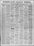 Portland Daily Press: November 10,1862