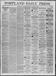 Portland Daily Press: November 12,1862