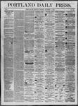 Portland Daily Press: November 15,1862