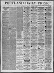 Portland Daily Press: November 19,1862