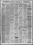 Portland Daily Press: November 20,1862