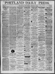 Portland Daily Press: November 21,1862