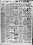 Portland Daily Press: November 22,1862