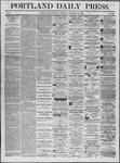 Portland Daily Press: November 25,1862