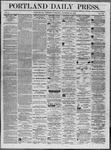 Portland Daily Press: November 26,1862