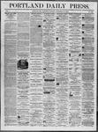 Portland Daily Press: November 29,1862