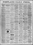 Portland Daily Press: December 12,1862