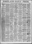 Portland Daily Press: December 22,1862