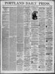 Portland Daily Press: December 31,1862