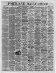 Portland Daily Press:  November 02,1864