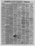 Portland Daily Press:  November 03,1864