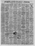 Portland Daily Press:  November 05,1864