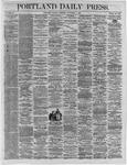 Portland Daily Press:  November 07,1864