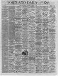 Portland Daily Press:  November 08,1864