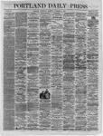 Portland Daily Press:  November 09,1864