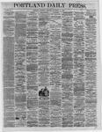 Portland Daily Press:  November 10,1864