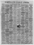 Portland Daily Press:  November 11,1864