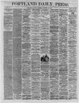 Portland Daily Press:  November 12,1864
