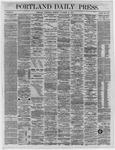 Portland Daily Press:  November 16,1864