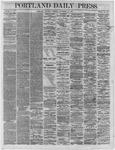 Portland Daily Press:  November 17,1864