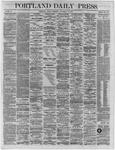 Portland Daily Press:  November 18,1864
