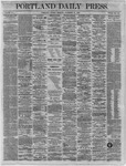 Portland Daily Press:  November 21,1864