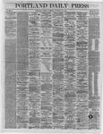 Portland Daily Press:  November 22,1864