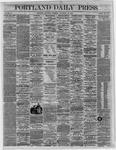 Portland Daily Press:  November 26,1864