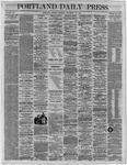 Portland Daily Press:  November 28,1864