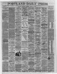 Portland Daily Press:  November 30,1864