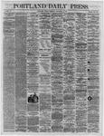 Portland Daily Press:  December 09,1864
