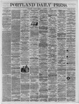 Portland Daily Press: December 13,1864