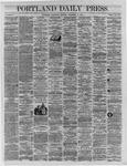 Portland Daily Press:  December 14,1864