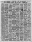 Portland Daily Press:  December 19,1864