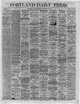 Portland Daily Press:  December 27,1864