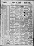Portland Daily Press: April 11,1864