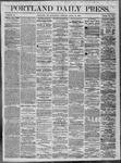 Portland Daily Press: April 13,1864
