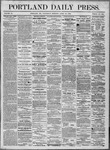 Portland Daily Press: April 20,1864