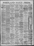 Portland Daily Press: April 27,1864