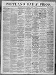 Portland Daily Press: April 29,1864