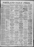 Portland Daily Press: April 30,1864