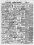 Portland Daily Press: January 19,1866