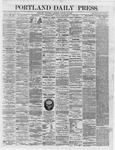 Portland Daily Press: January 24,1866