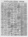 Portland Daily Press: January 25,1866