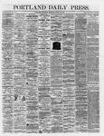 Portland Daily Press: March 10,1866