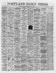 Portland Daily Press:  March 12,1866
