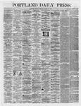 Portland Daily Press:  March 13,1866