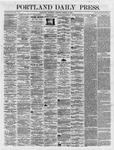 Portland Daily Press:  March 15,1866